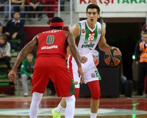 Sipahi en un partido de esta Euroleague. Foto: Euroleague.net